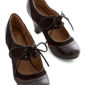 The Best of Times Heel in Black 1940s